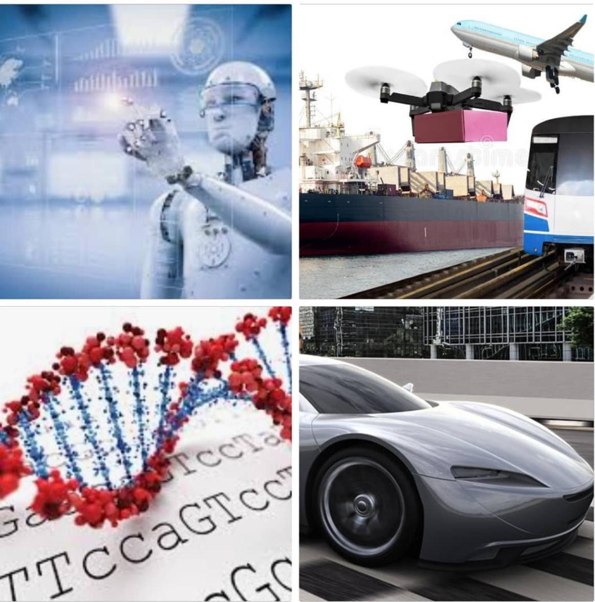 Auto's, boten, treinen en vliegtuigen - en terwijl we toch bezig zijn, laten we ook kanker genezen, want waarom niet?